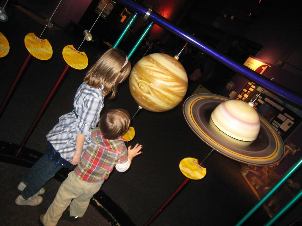 Space Exhibition at the Pacific Science Center