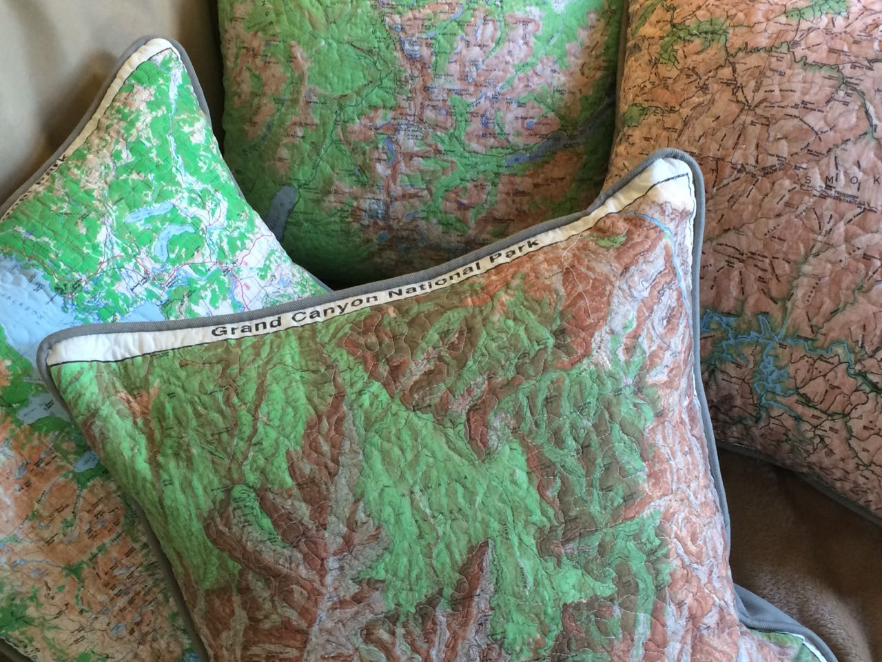National Park Service Bandana Pillows