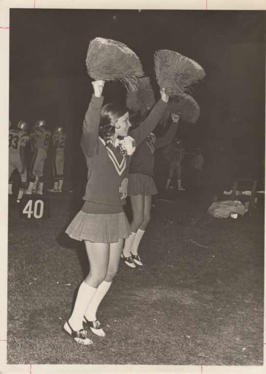 Bynes High School Cheerleader